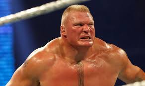 wrestlemania brock lesnar in heated row with vince mcmahon