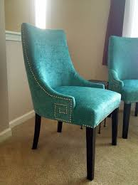Teal Dining Room Chairs Ideas Using Turquoise Dining Chair In Room The Home Redesign