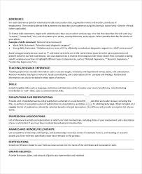 Experienced Teacher Resume Examples by Best Education Resume Templates 21 Free Word Pdf Documents