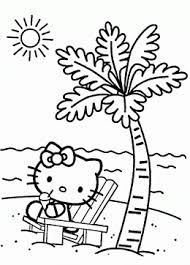 kitty coloring pages girls kitty printables