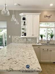 white dove on kitchen cabinets e design an oak cabinet makeover with white dove m