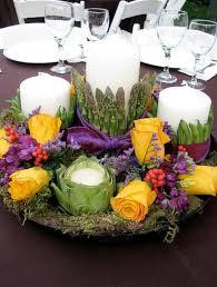 table arrangements veggie centerpiece arrangements weddings by lilly
