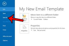 how to create an outlook email template in outlook 2013 solve