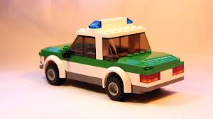 lego police jeep tutorial lego german police car moc youtube