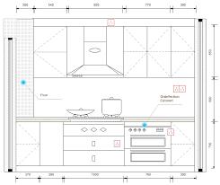 exemple plan de cuisine logiciel de conception de cuisine