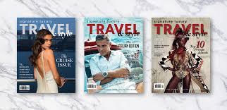 subscribe to signature luxury travel u0026 style magazine