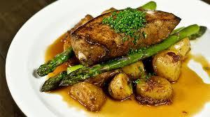 recette foie de veau de lait poêlé pommes de terre fondantes au