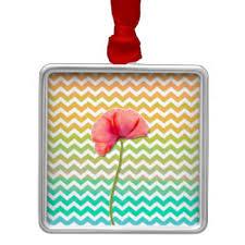 single poppy ornaments keepsake ornaments zazzle