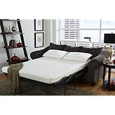 Amazoncom Zinus Sleep Master Cool Gel Memory Foam  Inch Sleeper - Sofa bed matress
