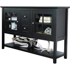 Black Tv Cabinet With Drawers Black Tv Stands You U0027ll Love Wayfair