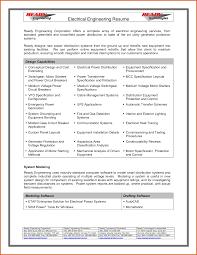 Example Engineer Resume by Sample Engineer Resume Doc