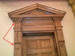 door door pilasters glorious white front door trim with