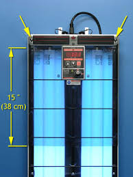 ultraviolet light therapy machine e series uvb phototherapy panel solarc systems inc usa