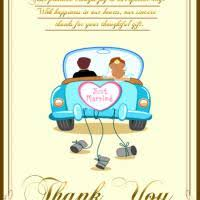 just married cards just married thank you card