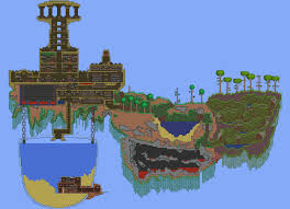 Terraria Map Viewer Terraria 2d Minecraft More Focused On Rpg Action Surprise 1 3