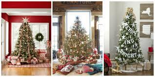 real small christmas trees christmas lights decoration