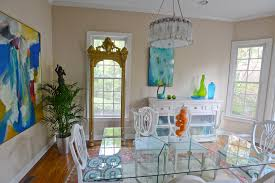 Dining Room Accent Pieces Private Quarters Eclectic Feel In Vinings Townhome Atlanta Life