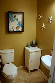 beach themed bathroom decor home decorations