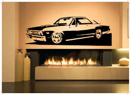 67 chevelle wall decal custom 5ft wide 182538752104 29 99