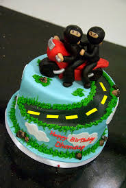 ninja motorcycle cake a photo on flickriver