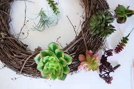 succulent wreath succulent wreath how to make a door wreath