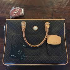 62 off rioni handbags rioni signature brown handbag from