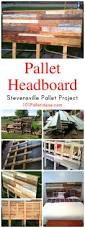 pallet headboard tutorial pallet headboard