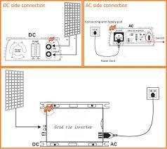 600w 22 60vdc 190 260vac grid tie micro inverter for 700w small