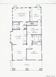 Eat In Kitchen Floor Plans Re Examining The Previous Layouts Of The House Home Scribe History