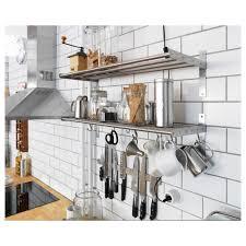 kitchen wall storage 02 wooden kitchen open shelves wall storage on black brackets home