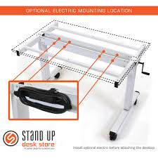 standup craft table