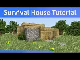 Minecraft House Design Ideas Xbox Small Survival House Tutorial Minecraft Xbox 360 Ps3 Youtube