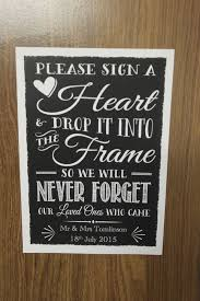wedding guest book picture frame wedding guest frames to sign wedding tips and inspiration