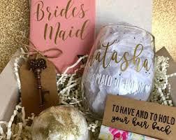 bridesmaids boxes bridesmaid boxes etsy