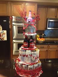 beer can cake valentine u0027s day beer tower theblingyblonde com