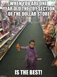 Meme Store - baby at dollar store imgflip