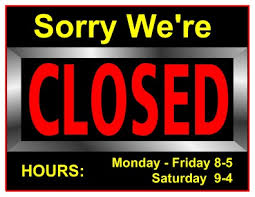 free closed for thanksgiving sign templates happy thanksgiving