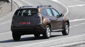 renault duster 2014 2014 dacia duster facelift spied again ahead of september debut in