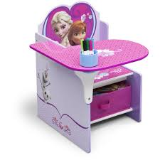 Childrens Desk Accessories by Delta Children Frozen Chair Desk With Storage Bin Walmart Com