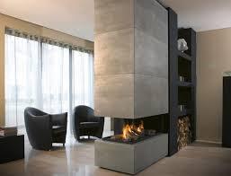 gas fireplace bioethanol wood burning contemporary 870
