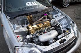 bisimoto wagovan honda k motor turbo civic engine pinterest honda honda