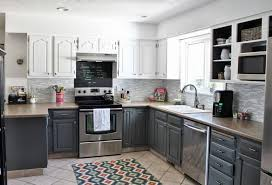 Small White Kitchen Cabinets Small Kitchen Remodel Cost Guide Apartment Geeks