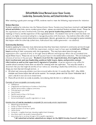 Resume For National Honor Society National Honor Society Essays Docoments Ojazlink Nhs Example Essay