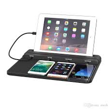 phone charger station super multifunction 4 usb desk dock charger cell phone fast charging