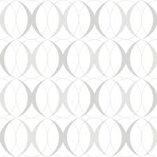 Stick And Peel Wallpaper by Shop Brewster Wallcovering Peel And Stick Silver Vinyl Geometric