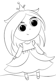 cute princess coloring free printable coloring pages