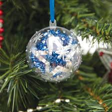 buy clear fillable christmas gift ornaments 12pk tts
