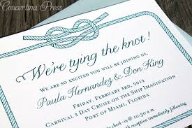 wedding invitations miami concertina press stationery and invitations tying the knot
