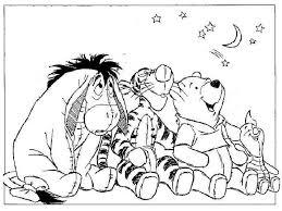winnie pooh drawings kids coloring