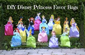 princess candy bags disney princess party favors